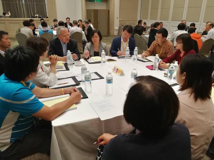 藉由分組座談,激發與會學者專家的創意及想法,為華人社會福祉共創新境。2018.04.27