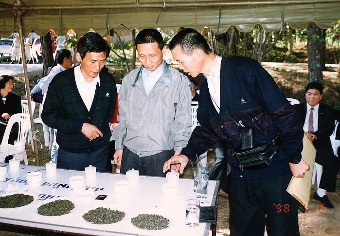 泰北茶葉競賽-邀請國內製茶專家擔任評審與技術指導