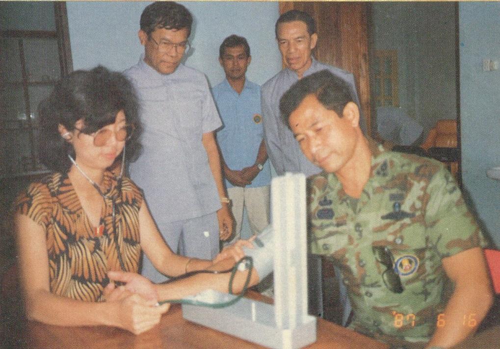 也為泰方軍民診斷服務