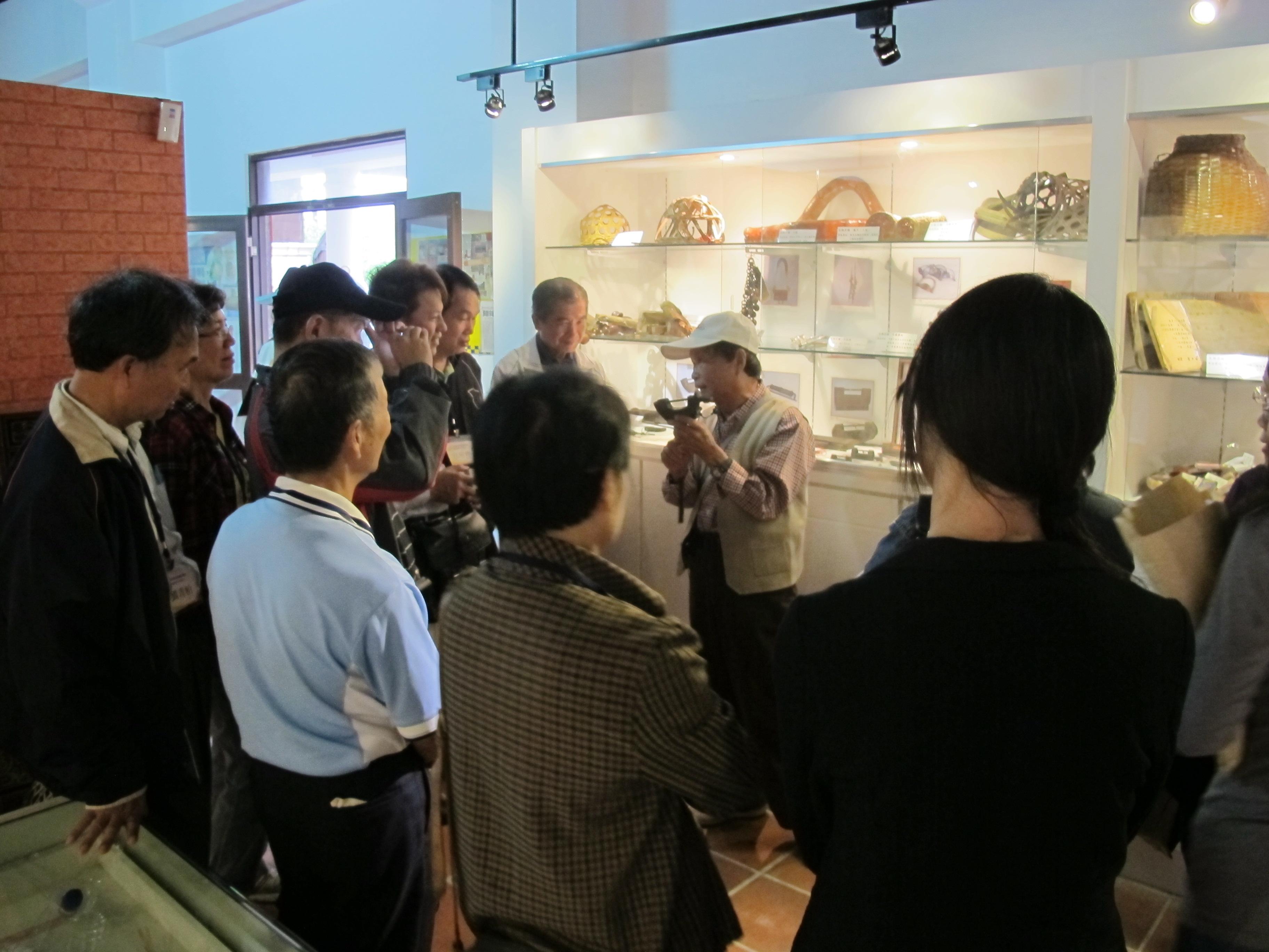 太平社區代表分享社區產業經營技巧。
