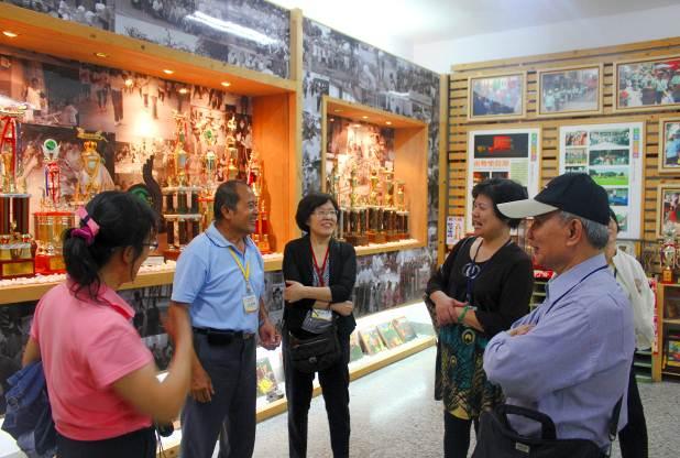南勢社區代表分享社區產業經營技巧。