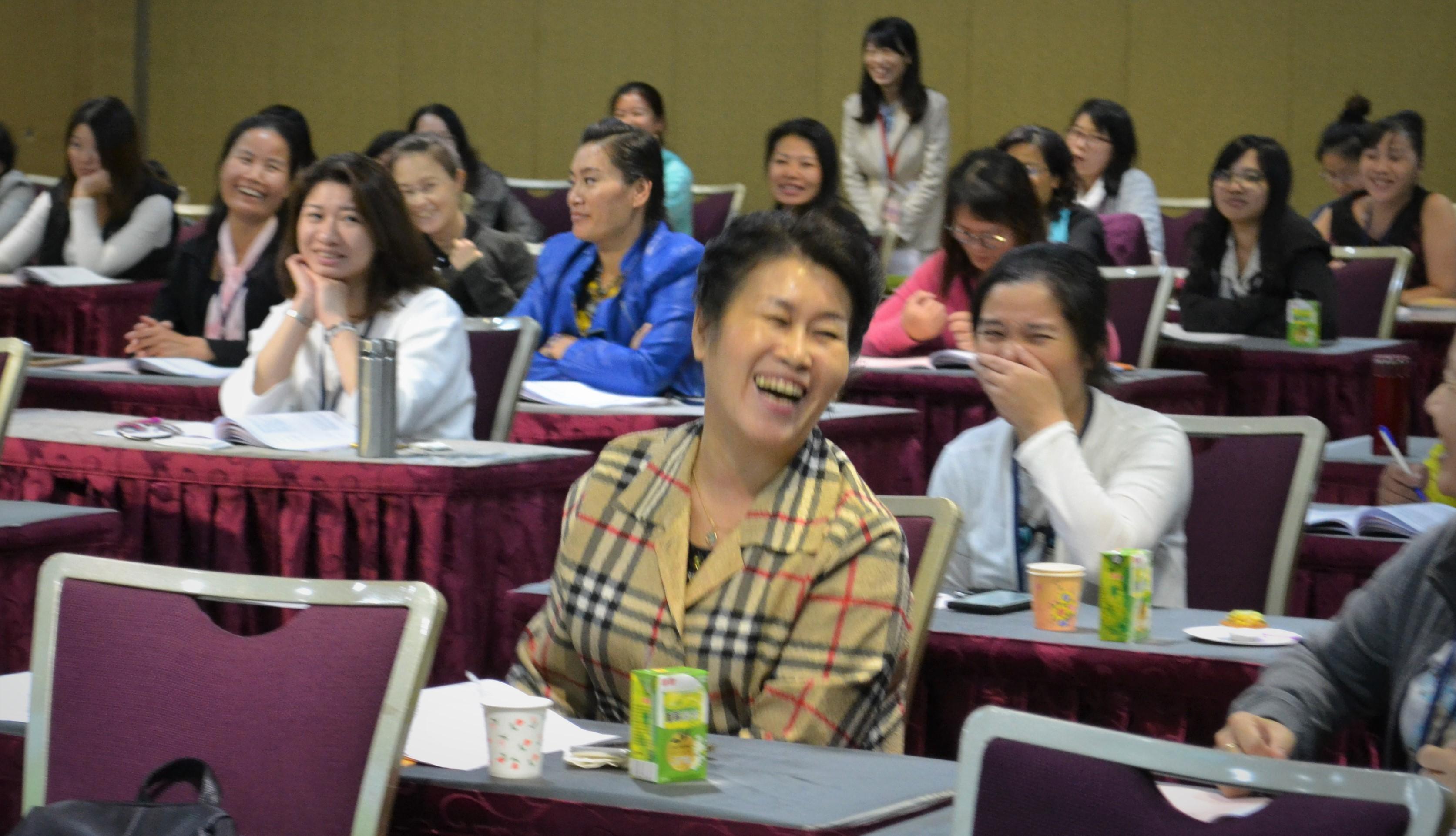共同微笑、學習與成長。2017,台北