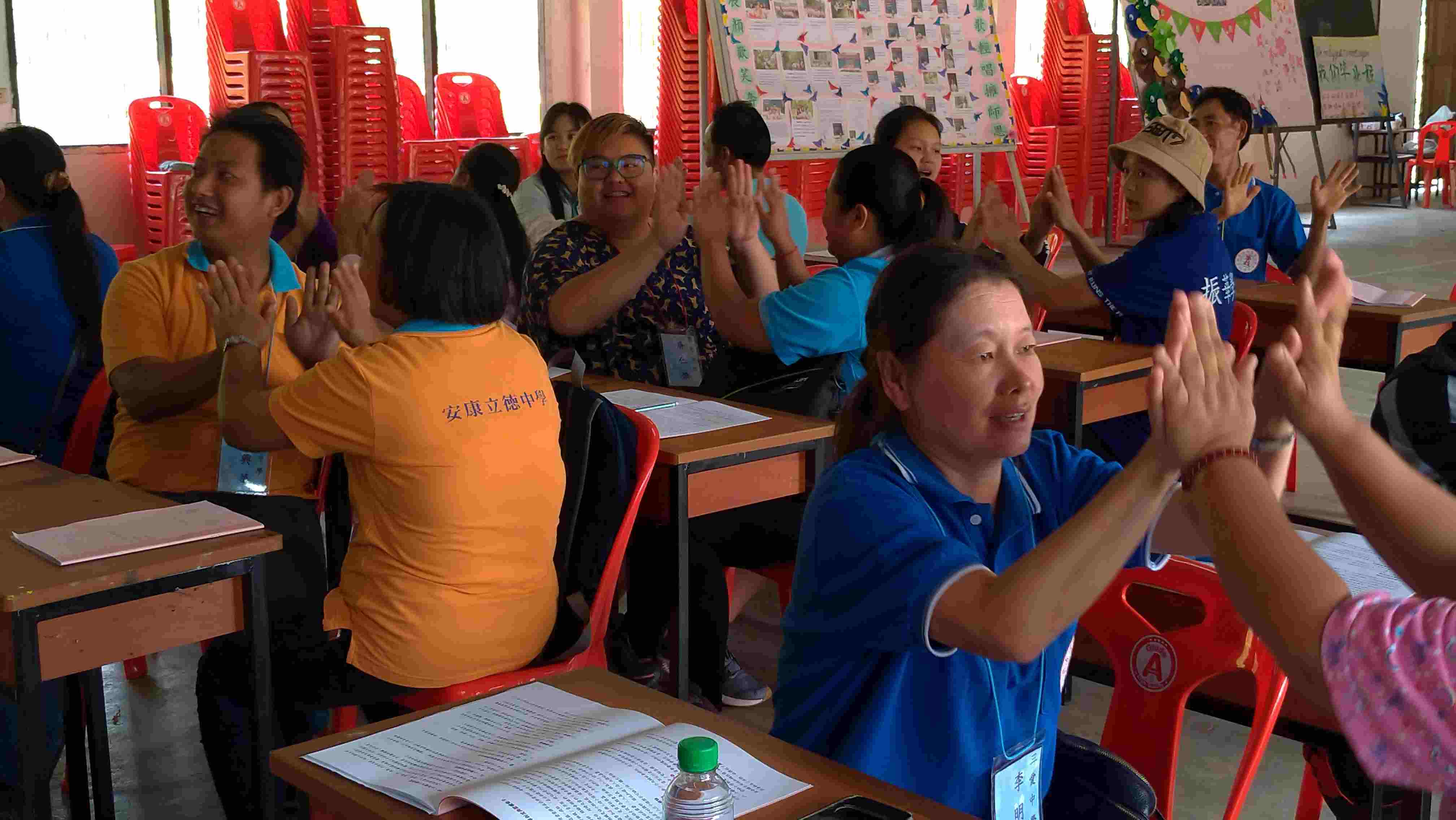 種子學員在活動中增進「團體動力」