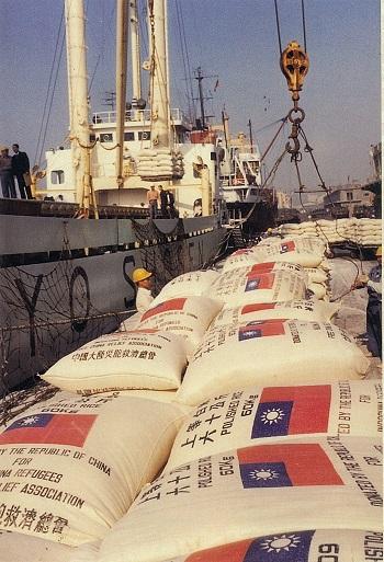 運送食米救助中南半島