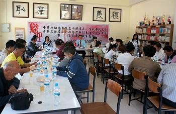 重視校務發展的校長們出席華校座談交流意見並向僑委會與本會反映意見。