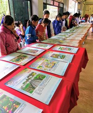 鼓勵泰北華校師生參加「話我泰北」圖文競賽,以泰北為主題,增進對泰北同胞對自身歷史文化的關注-2017.12。