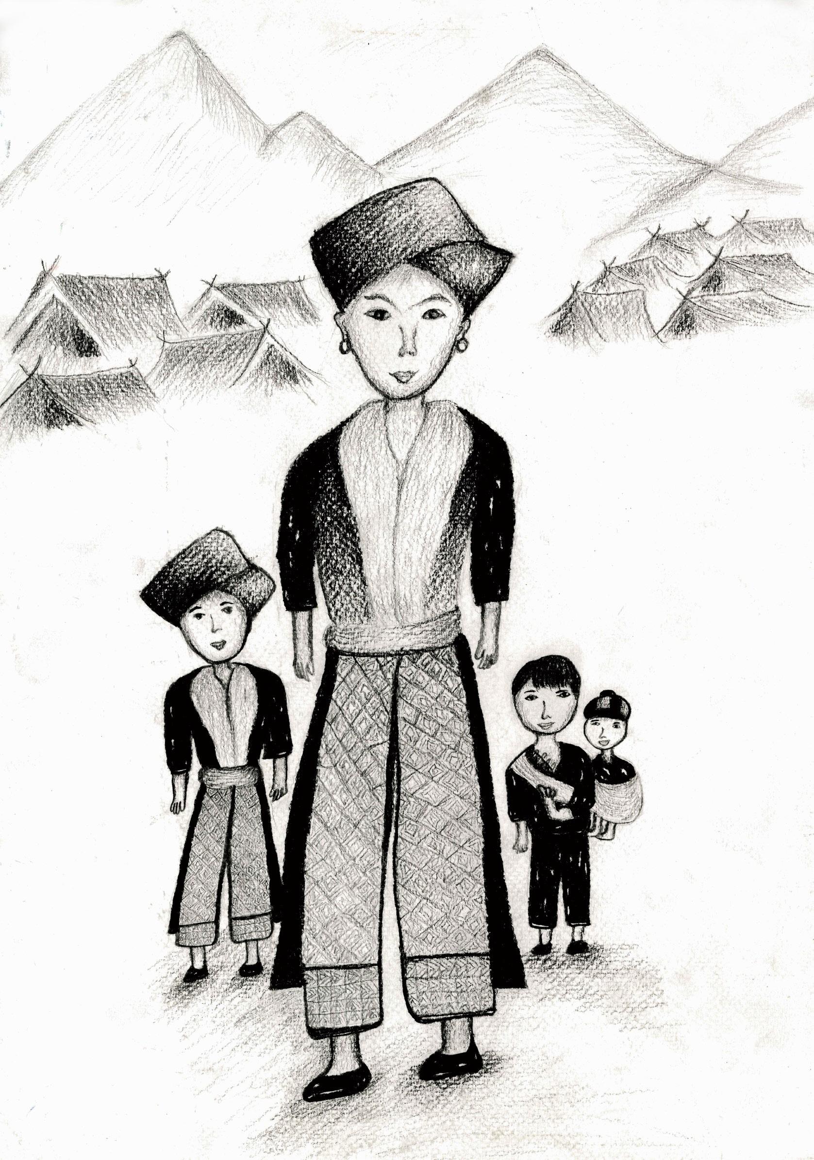 佳作 泰國瑤族 忠貞中學邱韻庭