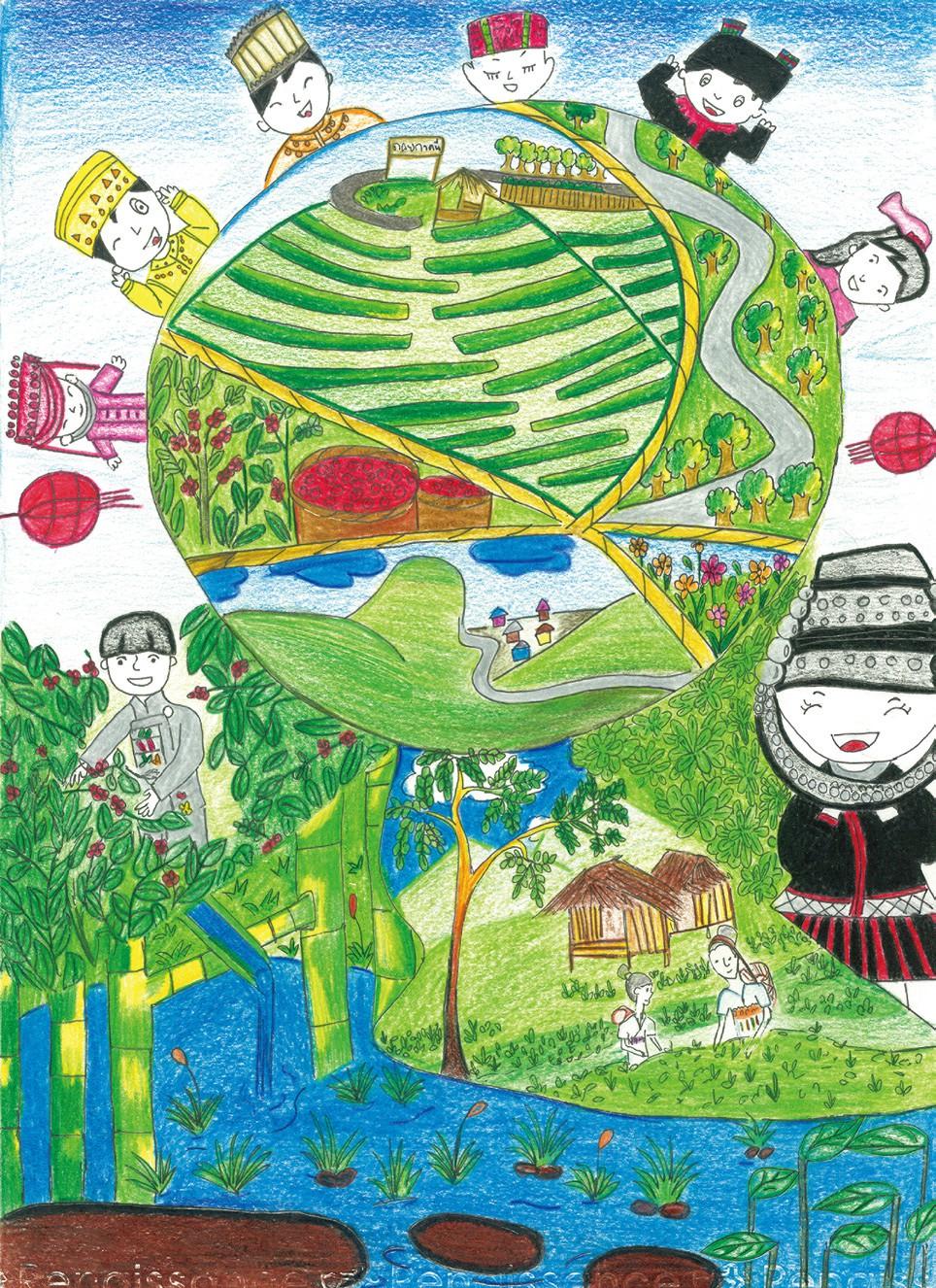 優等 綠色小山村 光復高中趙海娜