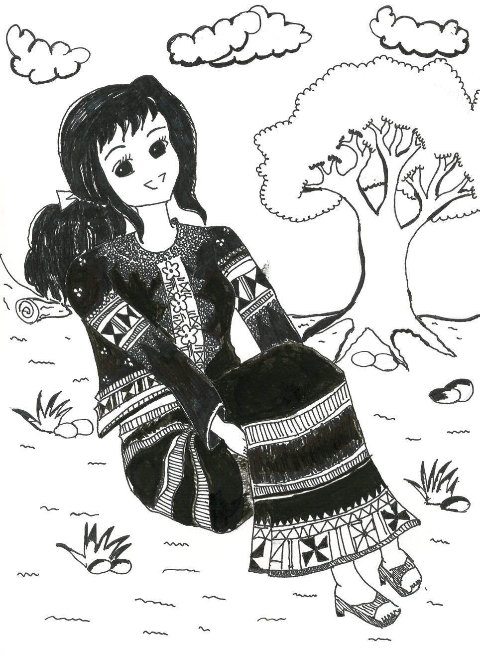 佳作 拉祜族女生 美華小學張佳義