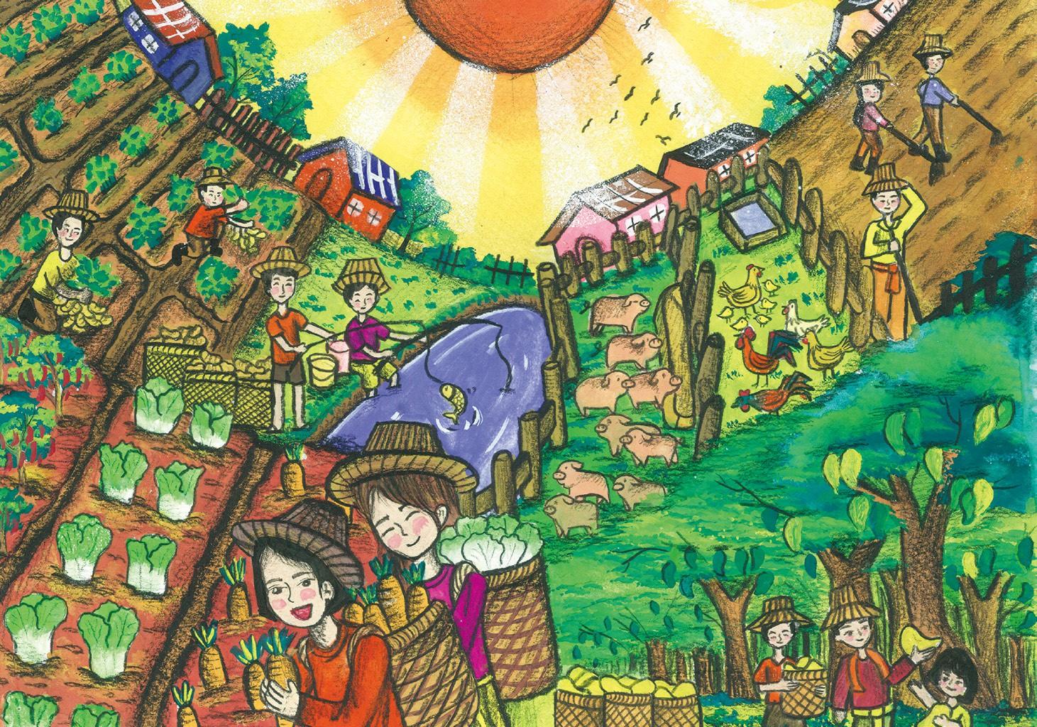 優等 家鄉的農業 華興中學李香香