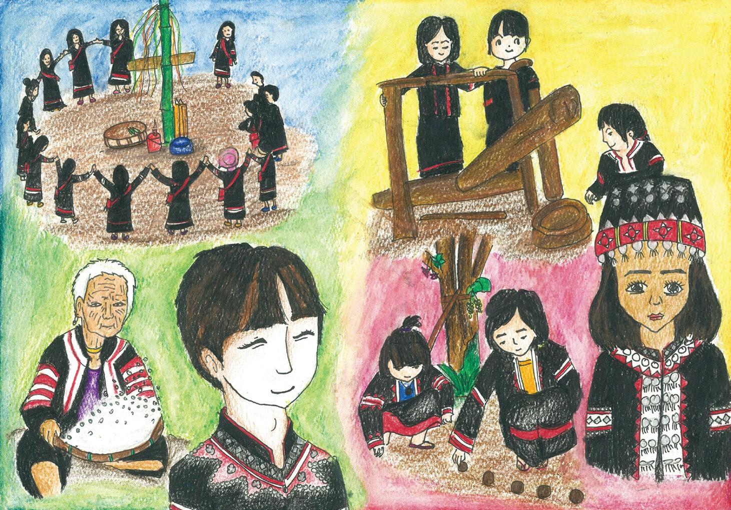 佳作 拉祜族 光復高中葉甜甜