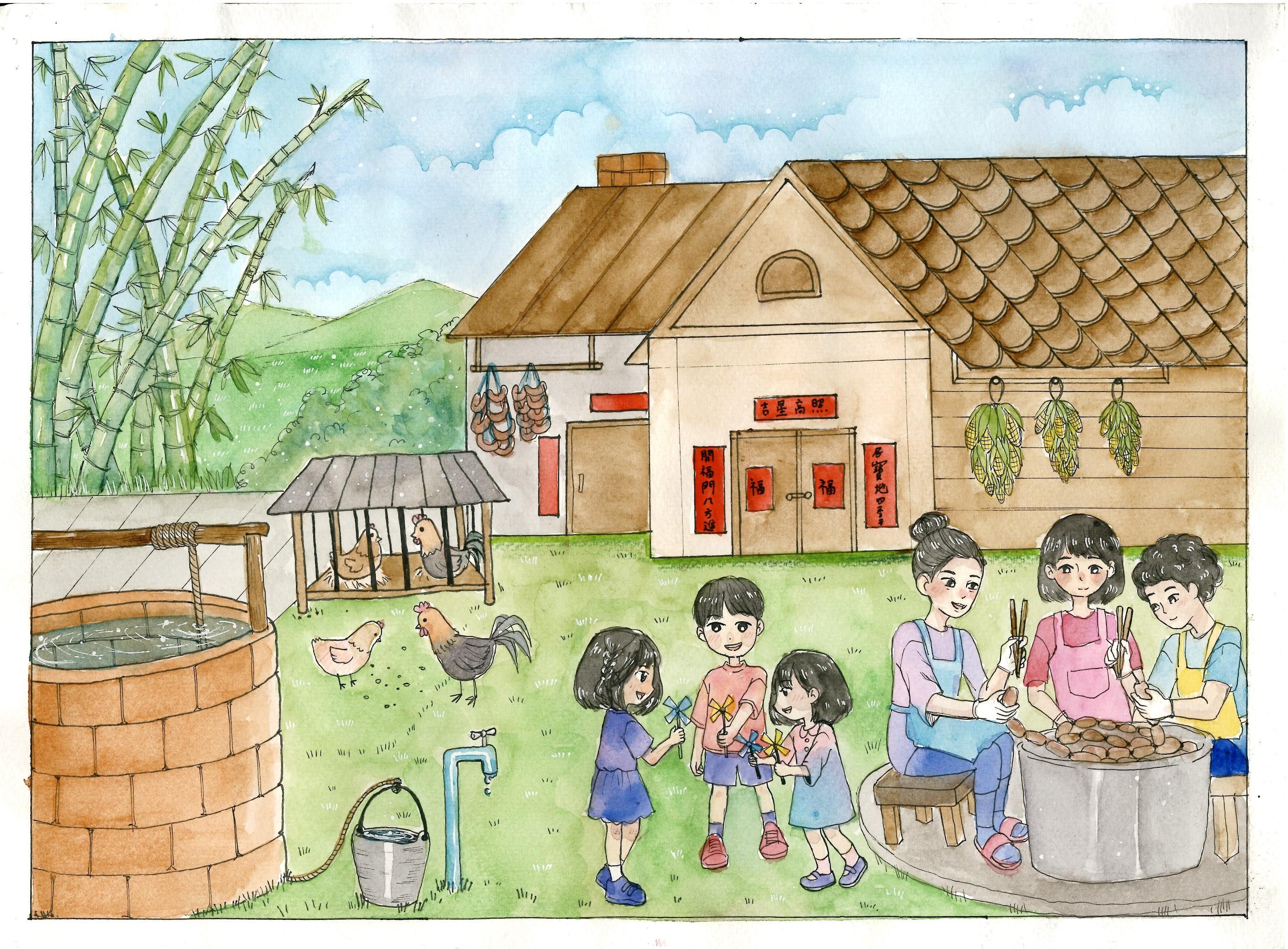 入選 泰北雲南人傳統家庭 一新中學張富秋